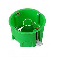 Коробка установочная СП 68х45 для г/к  КУ1201 с пласт. лапками