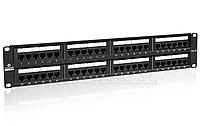 "LinkBasic PND48-UC5E Коммутационная панель  5e кат., UTP 19"", 2U, 48хRJ45 , фото 1"