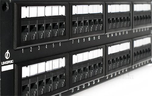 """LinkBasic PNT50-UC3 Коммутационная панель  3 кат., UTP 19"""", 1U, 50 портов"""