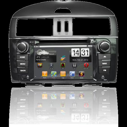 Штатное головное устройство Nissan Tiida Ca-Fi 3001062
