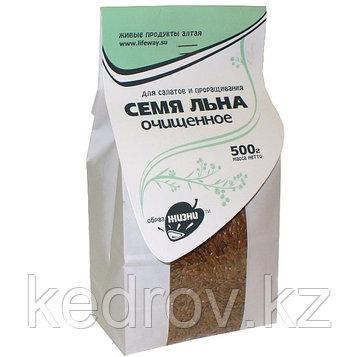 Семя льна очищенное для салатов и проращивания 500гр.