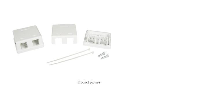 LinkBasic Настенная коробка 2-портовая
