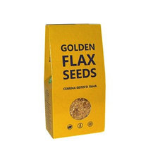 Семена белого льна премиум класса GOLDEN 150 г (Компас здоровья)