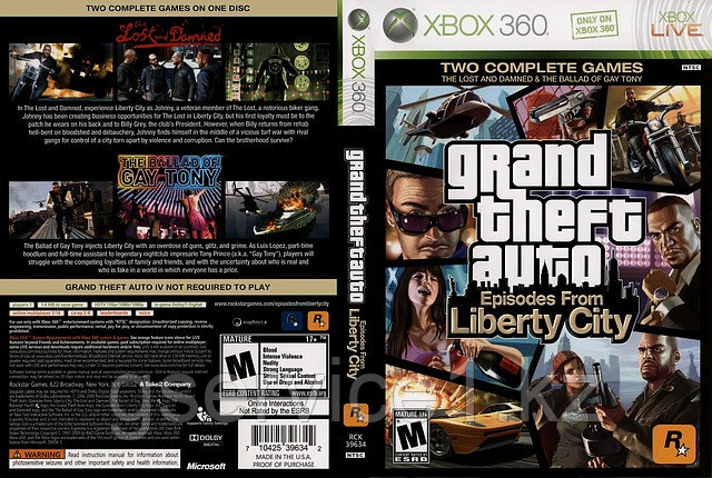 Grand Theft Auto 4: Episodes from Liberty City (GTA4)