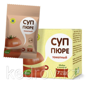 Суп-пюре ТОМАТНЫЙ 210 г (Компас здоровья). Цена за один пакетик.