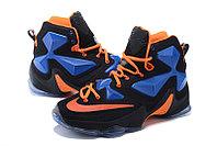 Nike Lebron 13 (XllI) Black and Blue баскетбольные кроссовки
