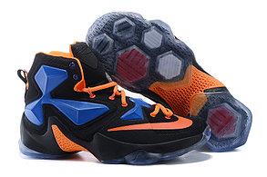 Nike Lebron 13 (XllI) Black and Blue баскетбольные кроссовки , фото 2