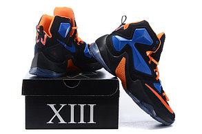 Nike Lebron 13 (XllI) Black and Blue баскетбольные кроссовки , фото 3