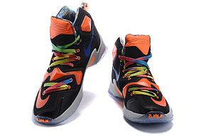 Nike Lebron 13 (XllI) Black and Orange баскетбольные кроссовки , фото 3