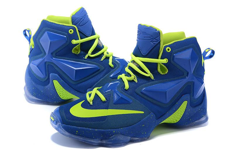 Nike Lebron 13 (XllI) Blue баскетбольные кроссовки