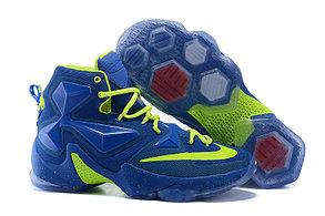 Nike Lebron 13 (XllI) Blue баскетбольные кроссовки, фото 2
