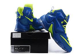 Nike Lebron 13 (XllI) Blue баскетбольные кроссовки, фото 3