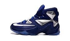 Nike Lebron 13 (XllI) Blue Silver баскетбольные кроссовки , фото 2
