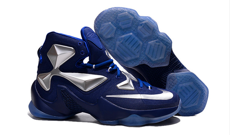 Nike Lebron 13 (XllI) Blue Silver баскетбольные кроссовки