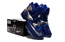Nike Lebron 13 (XllI) Blue Silver баскетбольные кроссовки , фото 3