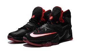 Nike Lebron 13 (XllI) Black and Red баскетбольные кроссовки , фото 2