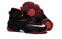 Nike Lebron 13 (XllI) Black and Red баскетбольные кроссовки