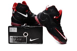 Nike Lebron 13 (XllI) Black and Red баскетбольные кроссовки , фото 3