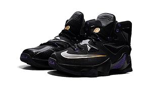 Nike Lebron 13 (XllI) Black баскетбольные кроссовки , фото 2