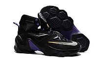 Nike Lebron 13 (XllI) Black баскетбольные кроссовки