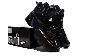 Nike Lebron 13 (XllI) Black баскетбольные кроссовки , фото 3