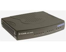 D-link DVG-5004S Голосовой шлюз с 4 портами FXS, 1 портом WAN 10/100Base-TX, 4 портами LAN 10/100Base-TX