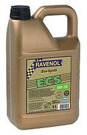 Синтетическое моторное масло RAVENOL ECS EcoSynth SAE 0W-20 SM Объем 5 л.