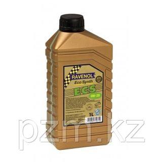 Синтетическое моторное масло RAVENOL ECS EcoSynth SAE 0W-20 SM Объем 1 л.