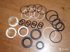Кольцо уплотнит.резиновое №203 ф внутр.  196,5мм,сеч.5,8 мм