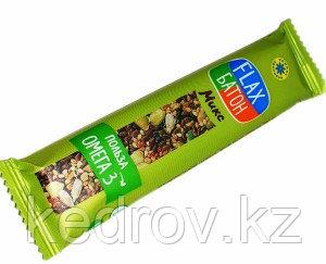 Флакс-батон МИКС (полезная сладость) 26 г (Компас здоровья)