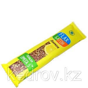 Флакс-батон на фруктозе ЛИМОН (полезная сладость) 30 г (Компас здоровья)