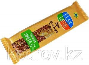 Флакс-батон ИМБИРЬ (полезная сладость) 30 г (Компас здоровья)