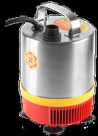 Насос GRINDA фонтанный д/чистой воды, нерж. сталь, 3 насадки, пропуск. способ. 1750 л/ч, высота подачи воды 2,