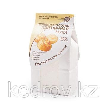 Цельносмолотая пшеничная мука, 500 гр.