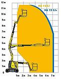 Коленчатая самоходная электрическая вышка HA12 CJ+, фото 8