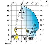 Коленчатая самоходная дизельная вышка HA20PX, фото 6
