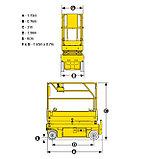 Самоходный ножничный электрический подъемник Optimum 8, фото 3