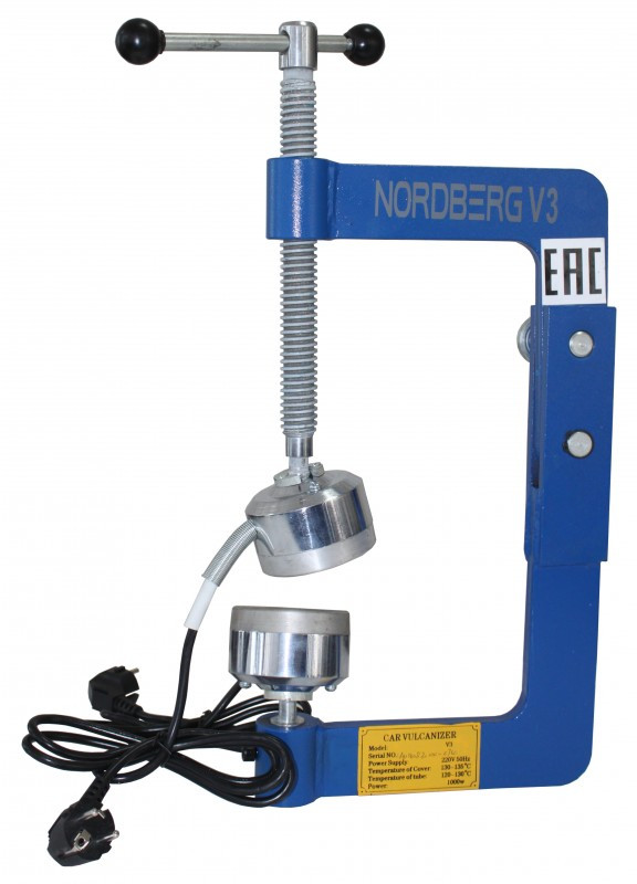 Вулканизатор (настольный) NORDBERG V3