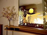 Оформление зеркала в багет по индивидуальному заказу