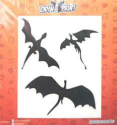 Наклейка Драконы из Игры Престолов