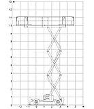 Самоходный ножничный дизельный подъемник H 12 SX L, фото 4