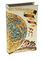 Ключница книжка шелк Карта Коперника