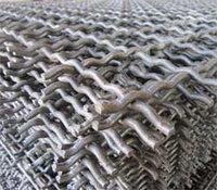 Сетка рифленая канилированная 4х4х1.6 ГОСТ 3306-88 сталь 45 50 55 65 75 80 стальная из рифленой проволоки