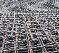 Сетка рифленая канилированная 7.0х7.0х2.2 ГОСТ 3306-88 сталь 45 50 55 65 75 80 стальная из рифленой проволоки