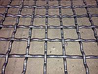 Сетка рифленая канилированная 8х8х4 ГОСТ 3306-88 сталь 45 50 55 65 75 80 стальная из рифленой проволоки