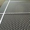 Сетки с квадратными ячейками из стальной рифленой проволоки 18.0х18.0х5 ГОСТ 3306-88 рифленые частичнорифленые