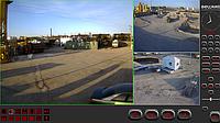 IP видеонаблюдение на производственной базе г. Астана