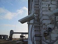 IP видеонаблюдение на зернохранилище г. Кокшетау