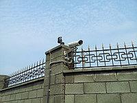 IP видеонаблюдение и периметральная сигнализация на частном объекте г. Астана