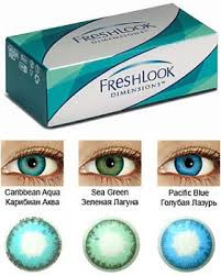 Цветные контактные линзы Freshlook (2 штуки) - фото 2
